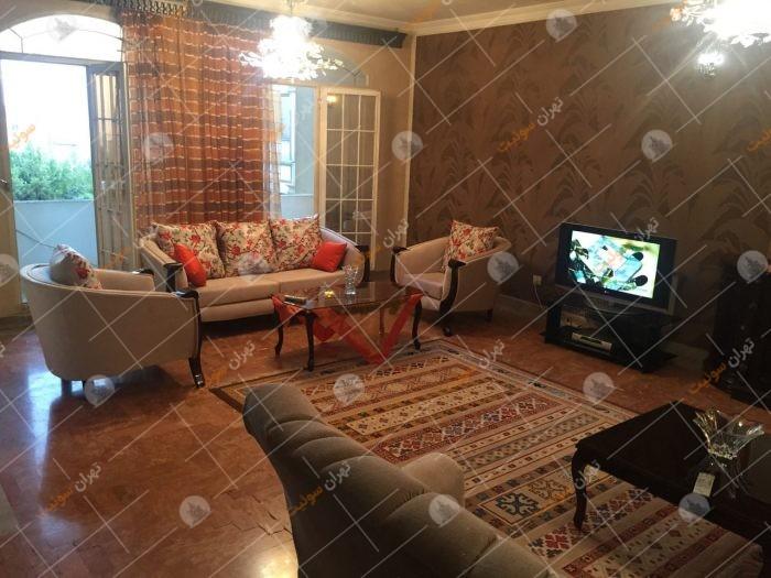 آپارتمان مبله سه خوابه تهران