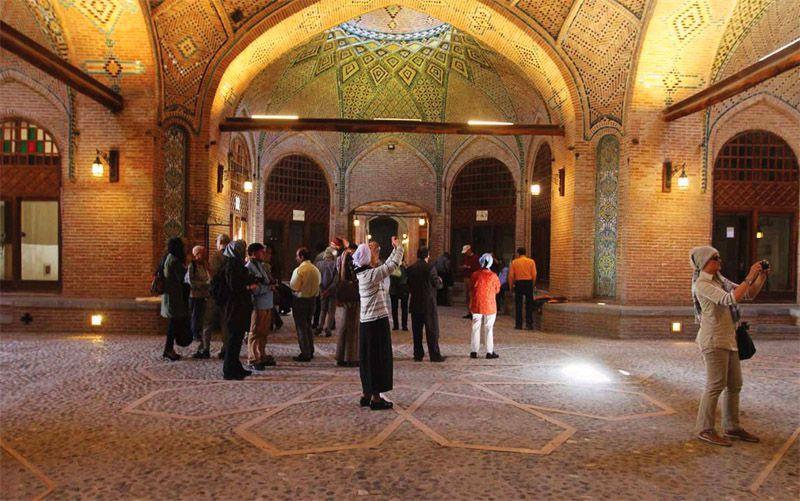 بازار قزوین و سرای سعدالسلطنه از مکانهای دیدنی قزوین