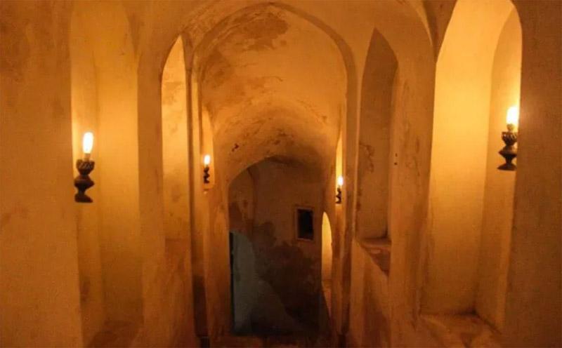 حمام بلور از دیدنی های قزوین