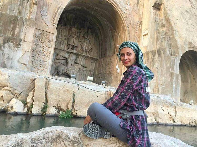 طاق بستان در کرمانشاه