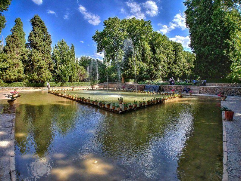 باغ شازده ماهان عکس