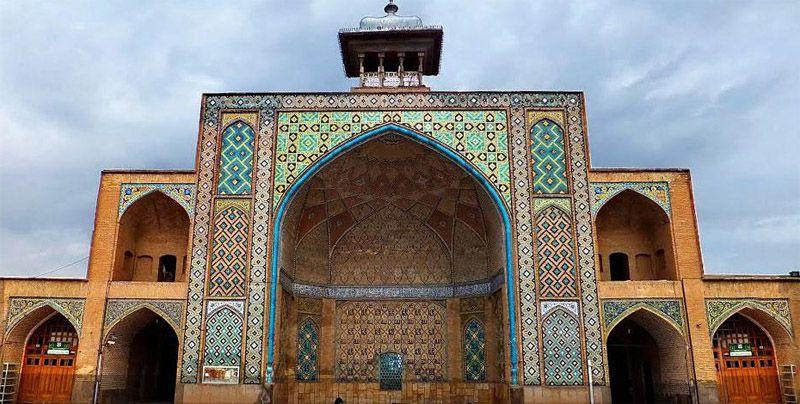 مسجد النبی از جاهای دیدنی قزوین ایران