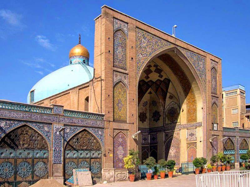 تاریخچه مسجد شاه تهران