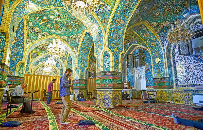 مسجد جامع بازار بزرگ تهران