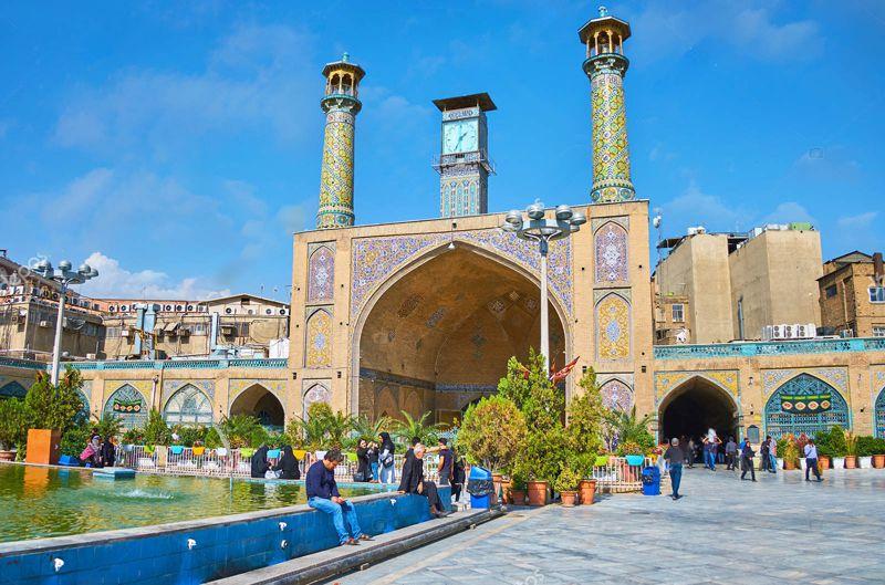 مسجد امام تهران بازار