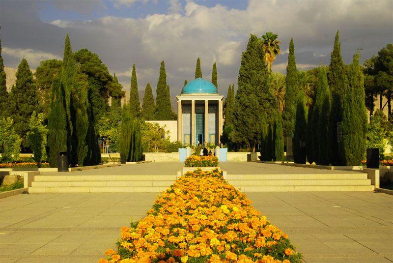 سعدیه از دیدنی های شیراز عکس