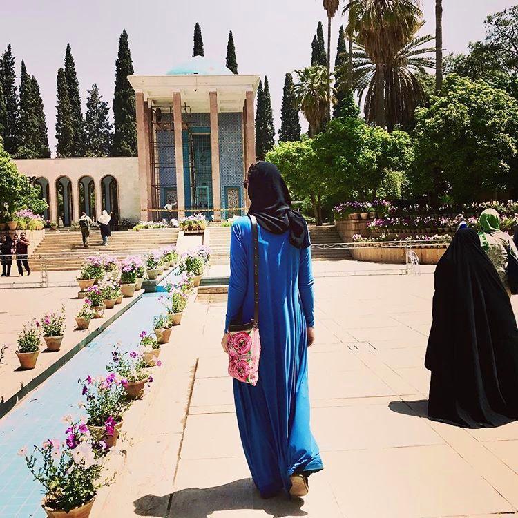 مقبره سعدی عکس