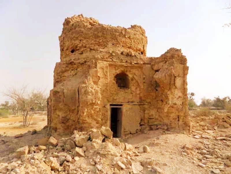 مقبره بی بی مریم (تم سنیتی) از جاذبه های توریستی قشم