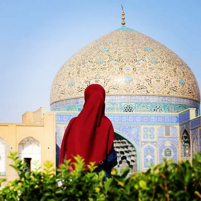 مسجد شیخ لطف الله اصفهان معماری