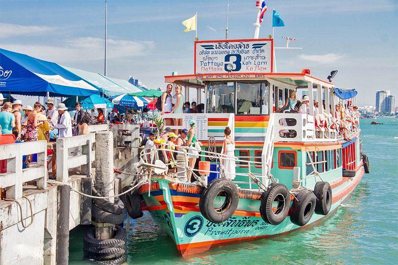 اسکله بالی های در پاتایا - سفر به پاتایا بدون تور