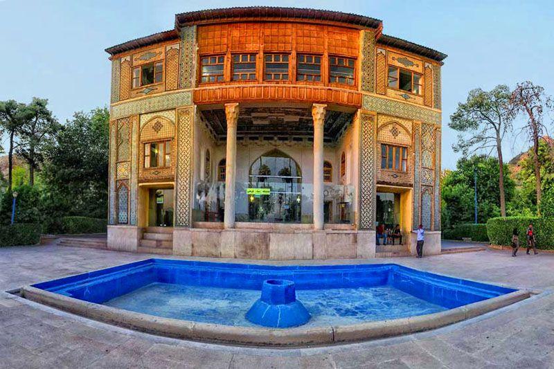 باغ دلگشا از دیدنی های شیراز با عکس
