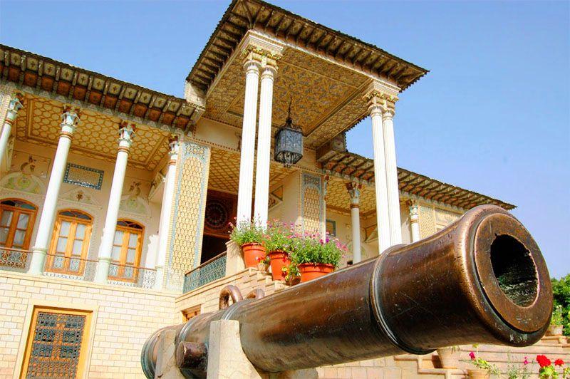 باغ موزه شیراز از دیدنی های شیراز با عکس