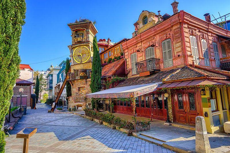 تفلیس (Tbilisi) [سفر به گرجستان با هواپیما]