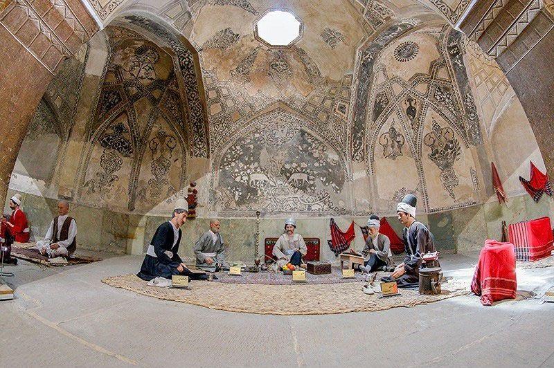 حمام وکیل از دیدنیهای شیراز با عکس