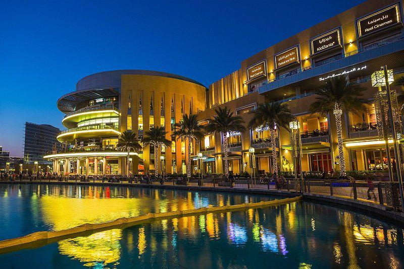 نمایی از دبی مال - راهنماي سفر به دبي