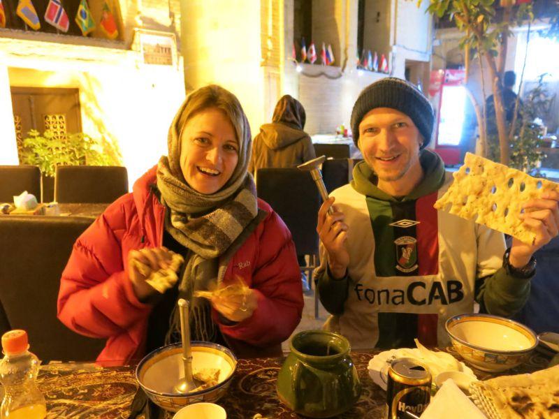 سوغات شیراز در جدول