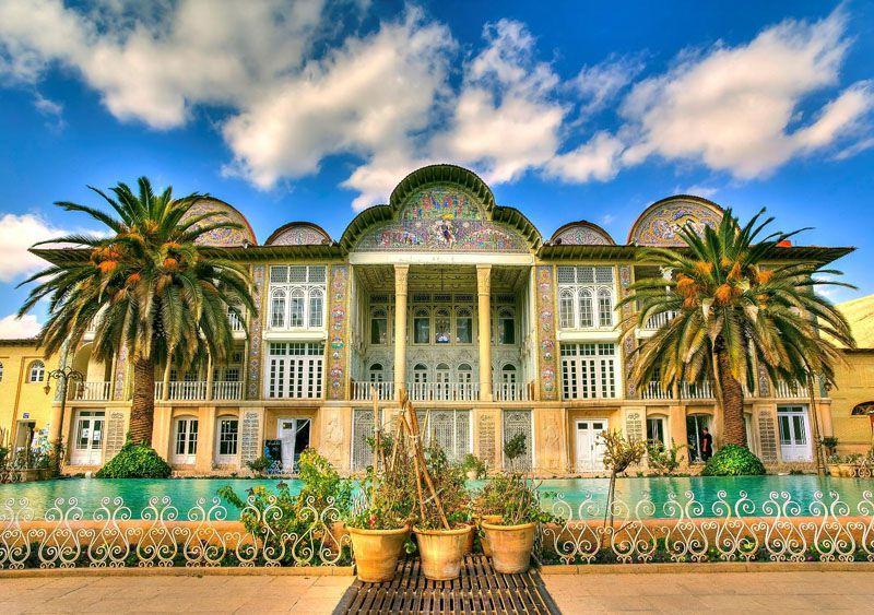 باغ ارم - جاهای دیدنی شیراز با آدرس و عکس