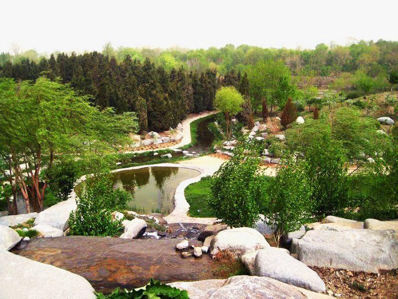 مجموعه رویشی آمریکا در باغ گياهشناسي ملي ايران