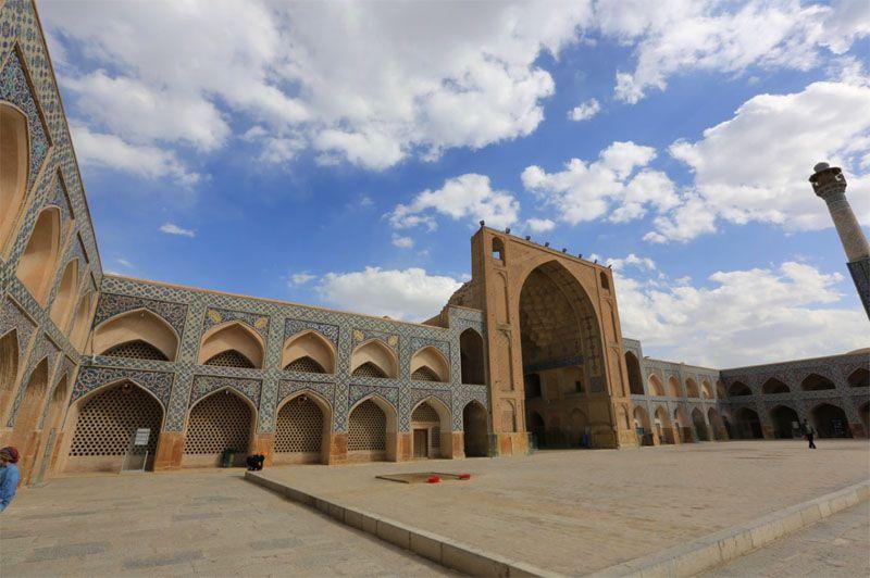 مسجد جامع اصفهان isfahan province isfahan