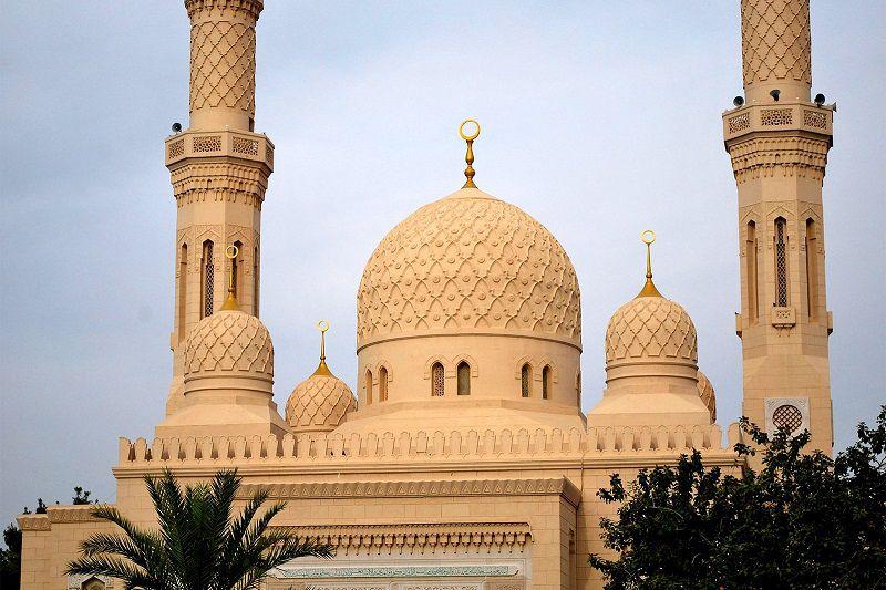 مسجد جمیرا انتخابی مناسب برای سفر به دبی در تابستان