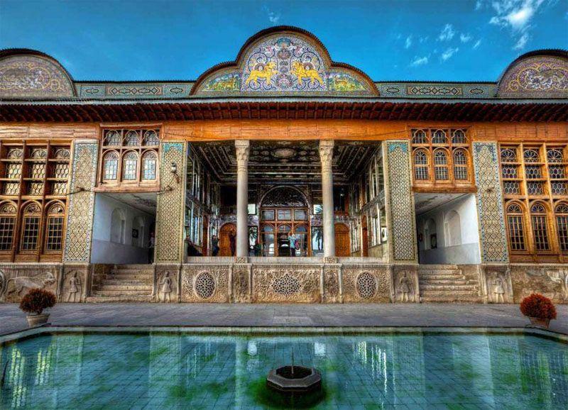 نارنجستان قوام از دیدنی های شیراز با عکس