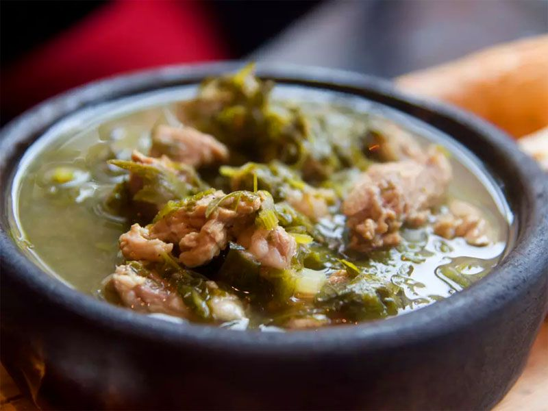 چاکاپولی (Chakapuli) غذای علاقهمندان به مسافرت زمینی به گرجستان