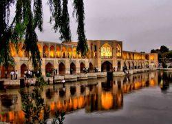 پل خواجو در اصفهان کجاست؟ (فوق العاده زیبا در شب) +تاریخچه, آدرس, عکس