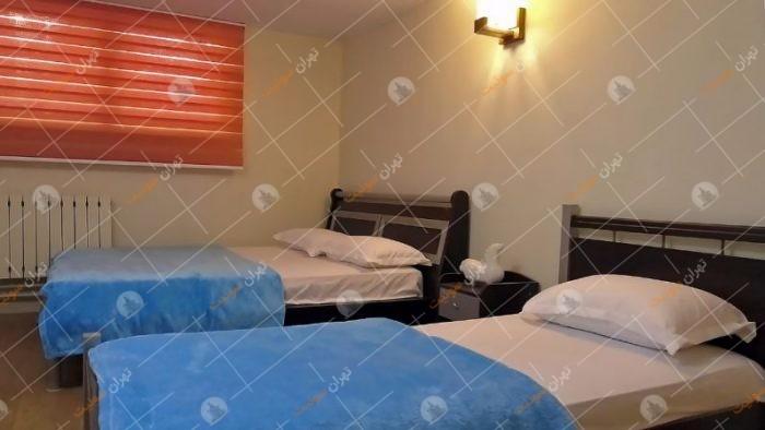 آپارتمان مبله در ظفر تهران با میز بیلیارد