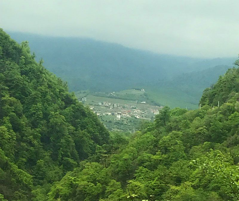 روستای لاویج استان مازندران