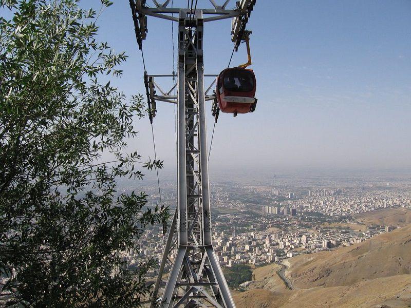 تله کابین توچال تهران