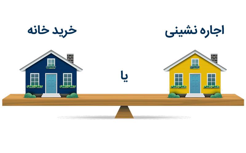 خرید خانه یا اجاره نشینی و رهن؟ کدام بهتر است؟ پاسخ دقیق و کامل با دلایل منطقی