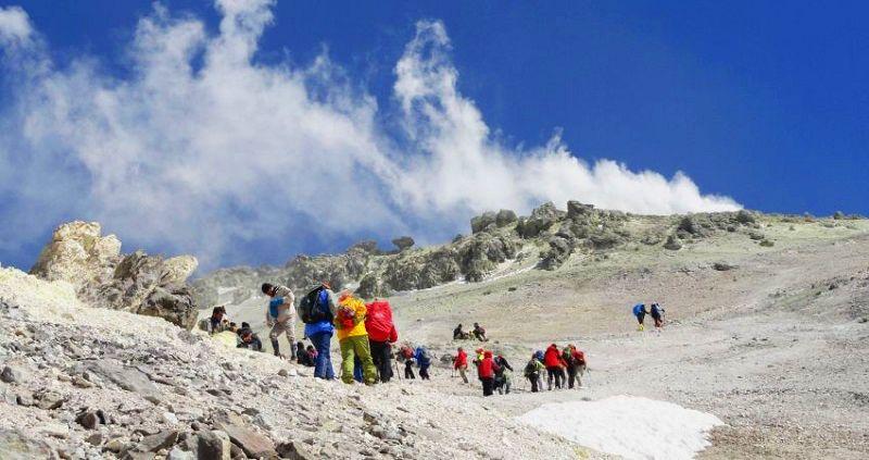 دماوند؛ مهم ترین آتشفشان های ایرانی