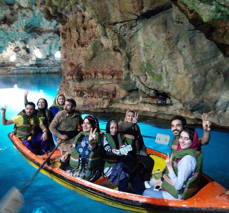 غار سهولان در مهاباد