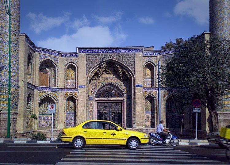 مسجد سپهسالار در تهران