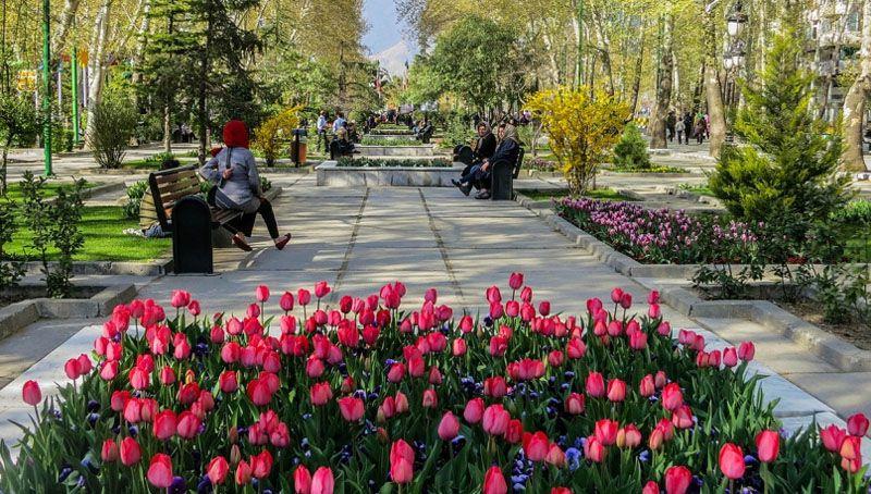پارک ملت مشهد مقدس