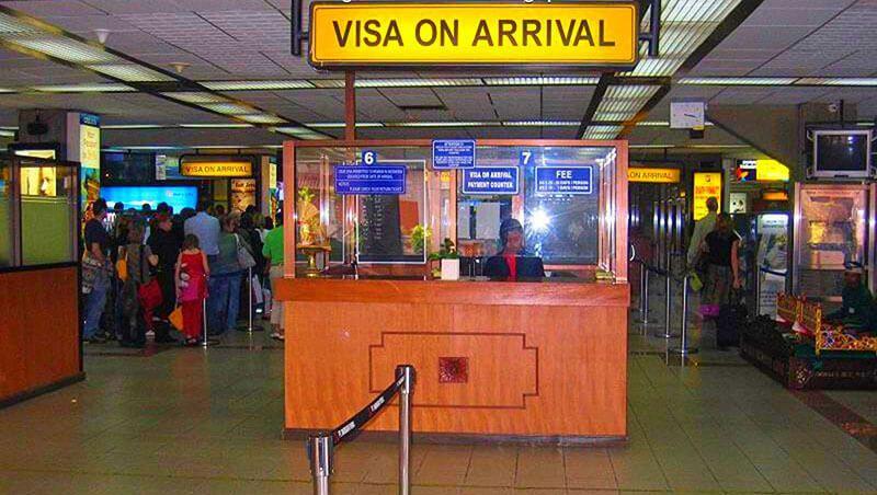ویزای فرودگاهی - کشورهای بدون ویزا با پاسپورت ایران