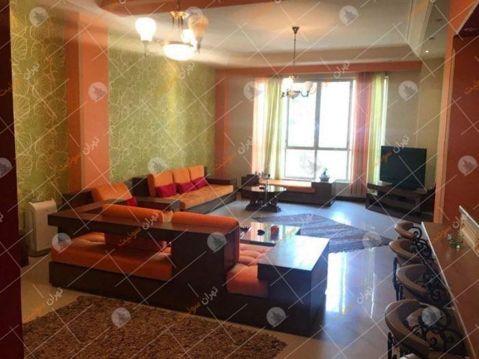 آپارتمان مبله لوکس در زعفرانیه تهران