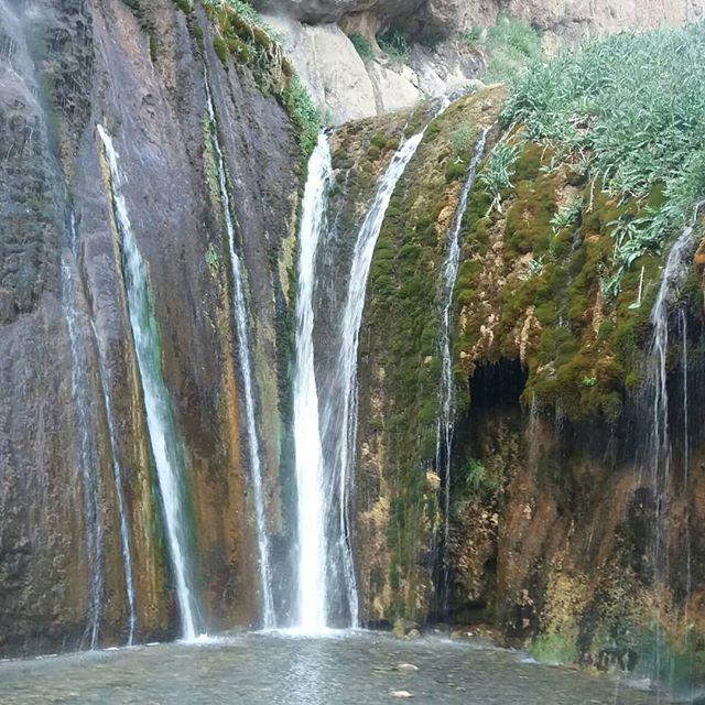 خشکسالی به زودی آبشار سمیرم را نابود می کند!